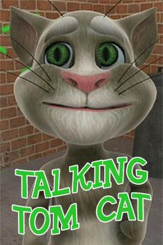 Download Talking Tom Cat v1.1.5 for Android                           Game description:  Talking Tom Cat - a very cheerful interactive game. He will answer your touches you can flick on his nose it is possible to pull his tail. But the most important - this cat can imitate you. Sing him a song. And he will repeat it after you only in his amusing manner. Tell a fairy tale - and he will tell you his version. It is possible to write down video with this cat and to show to your friends…