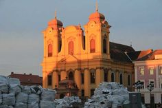 Die römisch-katholische Kathedrale in Temeswar (Foto © Norbert Eisner) Notre Dame, Cathedral, Building, Travel, Pictures, Catholic, Viajes, Buildings, Trips