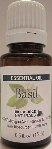 Basil Essential Oil, great for mental fatigue and exhaustion