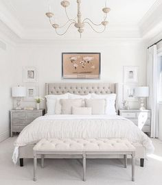 Home Interior Wall Neutral gray bedroom - 7 Things You Must Consider When Decorating a Bedroom.Home Interior Wall Neutral gray bedroom - 7 Things You Must Consider When Decorating a Bedroom Gold Bedroom Decor, Room Ideas Bedroom, Home Bedroom, Quirky Bedroom, Grunge Bedroom, Modern Elegant Bedroom, Aesthetic Bedroom, Contemporary Bedroom, Beautiful Bedrooms