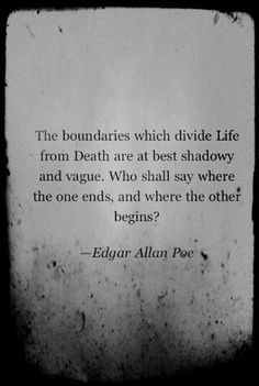 Life from Death