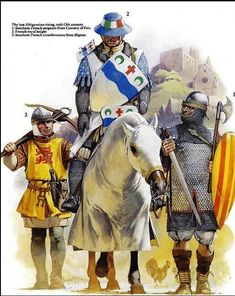 French Soldiers Mid-13th Century