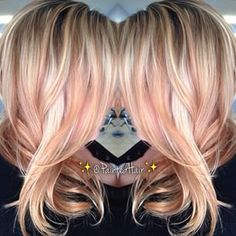 (Ashy Rose Gold Hair)