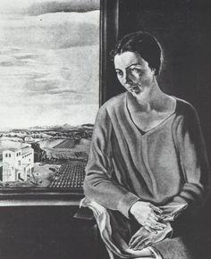 Portrait of Sefiora Abadal De'Argemi, 1926, Salvador Dali
