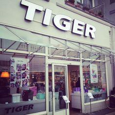 Tiger_2; der skandinavische Store für günstige, hübsche Alltagsprodukte & Klimbim in der Osterstraße im Stadtteil Eimsbüttel