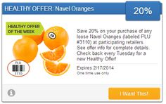RARE! Coupon For Fresh Oranges! - http://couponingforfreebies.com/rare-coupon-fresh-oranges/
