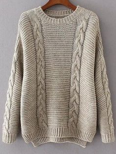 New Arrivals Clothes for Women Men Latest Styles Online Cable Knit Jumper, Knit Cowl, Cardigan Sweaters, Long Cardigan, Cardigan Fashion, Knit Fashion, Chunky Knitwear, Cardigans For Women, Baby Knitting