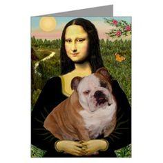 Bulldog and Mona Lisa