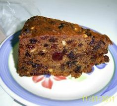Last-minute Rich Christmas Fruit Cake