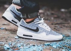 Nike id air max 1 htm (by eiertyp) tênis air max, tênis nike, nike Air Max 1, Nike Air Max, Nike Id, Women's Shoes, Suit Shoes, Shoes Style, Nike Free Shoes, Nike Shoes Outlet, Air Jordan