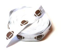 Football Fold Over Elastic  foldover by wholesaleflowers on Etsy, $3.50
