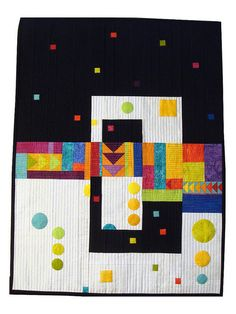 Fab Little Quilt Swap Abstract Quilt by Lemon Tree Tales