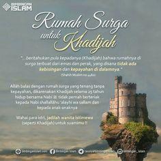rumah surga untuk khadijah...