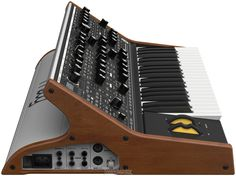 I want one! The nest since the model D? Moog Sub 37 Tribute Edition Analog Synthesizer | Sweetwater.com