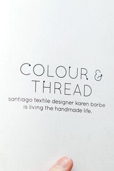 Blog | Karen Barbé | Textileria