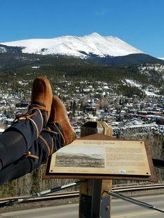Kate Ross - Mukluks in the mountains - Breckinridge, CO #mukluk #stegermukluks