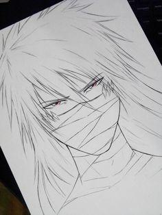 Ichigo Mugetsu by DiegoYojiJoji Anime Drawings Sketches, Kpop Drawings, Anime Sketch, Cute Drawings, Bleach Drawing, Manga Drawing, Otaku Anime, Manga Anime, Anime Art