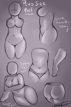 Figure Drawing Reference Bases para croquis plus size Drawing Techniques, Drawing Tips, Drawing Reference, Drawing Sketches, Art Drawings, Pencil Drawings, Sketching, Drawing Ideas, Pencil Drawing Tutorials