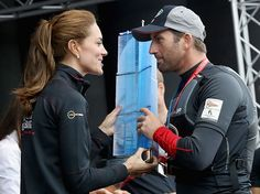 Kate Middleton Always Makes Time For Sir Ben Ainslie | Celeb Dirty Laundry