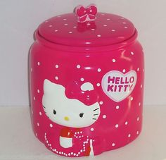 Hello Kitty Cookie Jar made in China for F*A*B STARPOINT