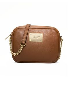 MICHAEL Michael Kors  Jet Set Pebbled Crossbody.- Absolutely Love and Mandatory that I get!!!