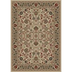 Found it at Wayfair - Persian Classics Oriental Mahal Ivory Area Rug
