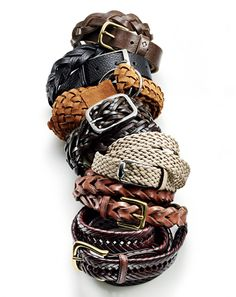 Weaved Belts. I already have two, but will hopefully be stocking up on them for the summer. Fake market here I come...