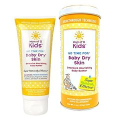 Mom of 11 Kids No Time for Baby Dry Skin Intensive Nourishing Baby Butter  Dr Recommended HypoAllergenic AllNatural Hydrating Softening treatment for sensitive skin  3oz by Mom of 11 Kids *** To view further for this item, visit the image link.-It is an affiliate link to Amazon.