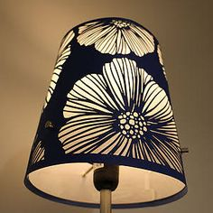 Laser cut lamp shade