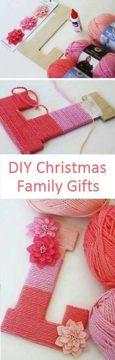 DIY Christmas Gifts for Family