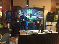 Excited to be out in Denver at the #ICAA ! Come check us out at booth #405 #sprayfoam