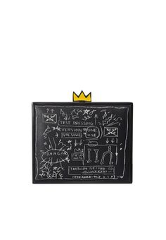 aoxbasquiat BEAT BOP CLUTCH by Alice + Olivia