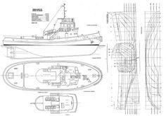 Quinze marins sur le bahut du mort...: Plan d'un Remorqueur de Bilbao
