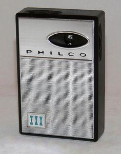 https://flic.kr/p/zrAftb | Vintage Philco 6-Transistor AM Radio, Model NT-600-BKG, Made In Japan, Circa 1964