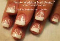 wedding french pedicure for bride - Yahoo Search Results Yahoo Image Search Results