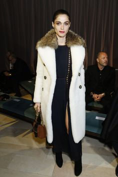 From fur to florals, see the 10 ladies who stole the show at London Fashion Week: