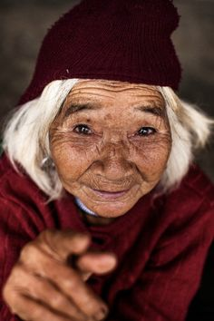 87 Years Old Co Tu by Rehahn Photography