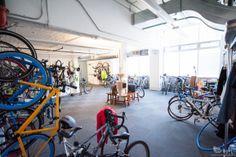 Bicicletario em Atlassian - San Francisco, CA