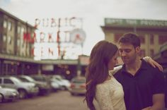 Love this. SO cute. Photo Fridays | A Modern Seattle Engagement