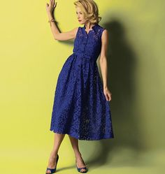 Purchase Butterick 5920 Misses' Dress, Belt and Slip and read its pattern reviews. Find other Dresses, sewing patterns.