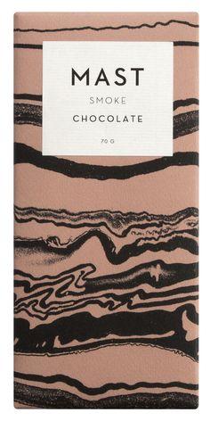 Dark chocolate made with smoked beans 70% cacao, cane sugar Cacao origin: Papua New Guinea