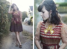 adorable fall outfit: Delightfully Tacky Blog.
