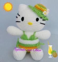 Tejiendo con Chico: Hello Kitty 18