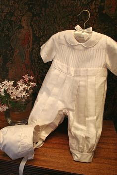 When its a boy's special day.................... Isabel Garretón Christening Collection