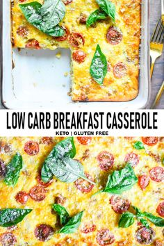 This dreamy nutritious low carb breakfast casserole is like savory little protein packed flavor bombs going off in your mouth. This dreamy nutritious low carb breakfast casserole is like savory little protein packed flavor bombs going off in your mouth. Best Keto Breakfast, Low Carb Breakfast Casserole, Breakfast Recipes, Breakfast Ideas, Nutritious Breakfast, Healthy Breakfasts, Diet Lunch Ideas, Lunch Recipes, Salad Recipes