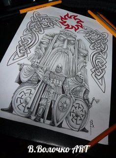 Эскизы татуировок участников Celtic Cross Tattoos, Celtic Knot Tattoo, Celtic Art, Zues Tattoo, Tattoo On, Slavic Tattoo, Norse Tattoo, Viking Art, Viking Symbols