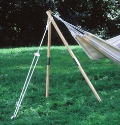 Madera Hammock Stand $49 sale, when you need a tree substitute, works slick! #hammocksforsale