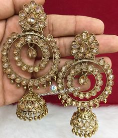 @NGT6020 Gold Necklaces, Gold Hoop Earrings, Gold Hoops, India Jewelry, Jewellery Box, Indian Fashion, Fashion Accessories, Jewels, Classic