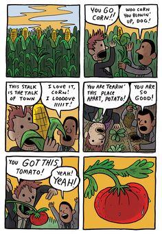 You go garden!