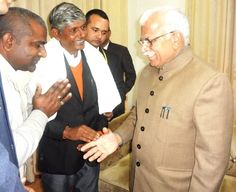 Meeting with Chief Minister,Haryana,26th,January,2015
